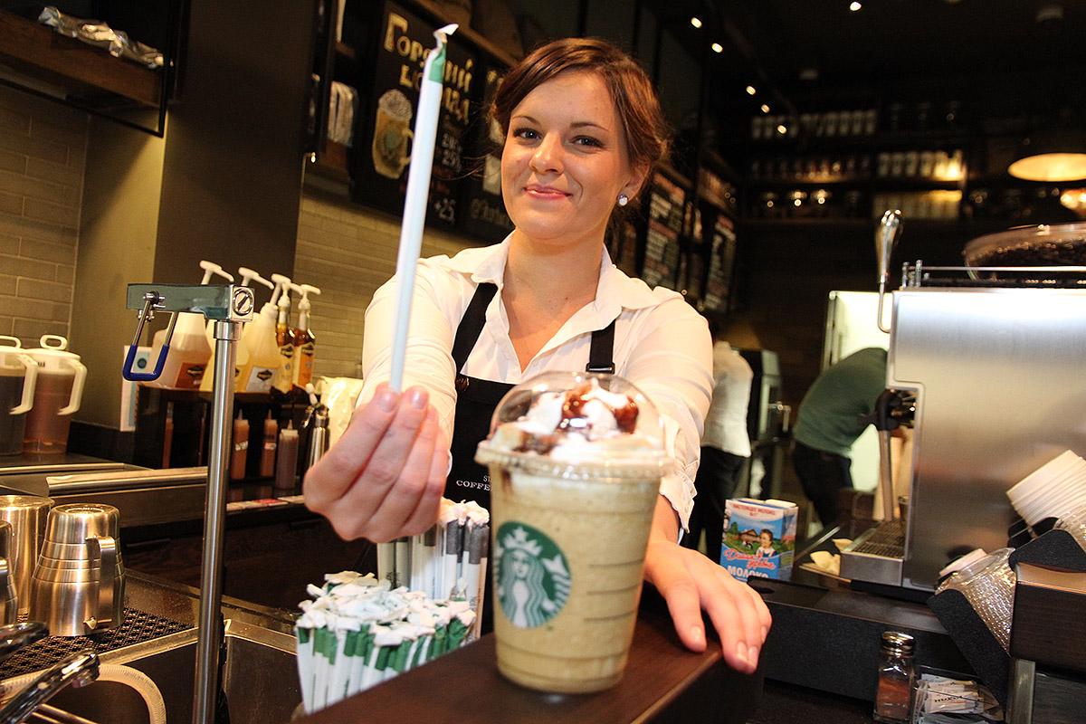 Если вы с утра пораньше кофе вздумали попить... Кофе-мастер Starbucks дает вредные советы