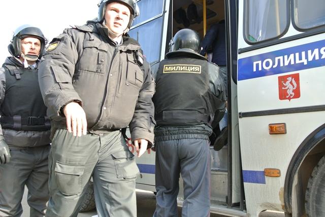 Незаконный митинг против нового главы Арамиля закончился арестами