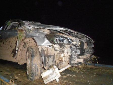 Водитель и пассажиры пострадали в ДТП под Заречным
