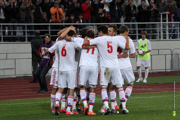 Молодежная сборная по футболу вновь сыграет в Екатеринбурге