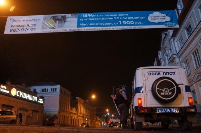 Совершенно секретно: мэрия срезала рекламу втайне от полиции и парней на Infiniti