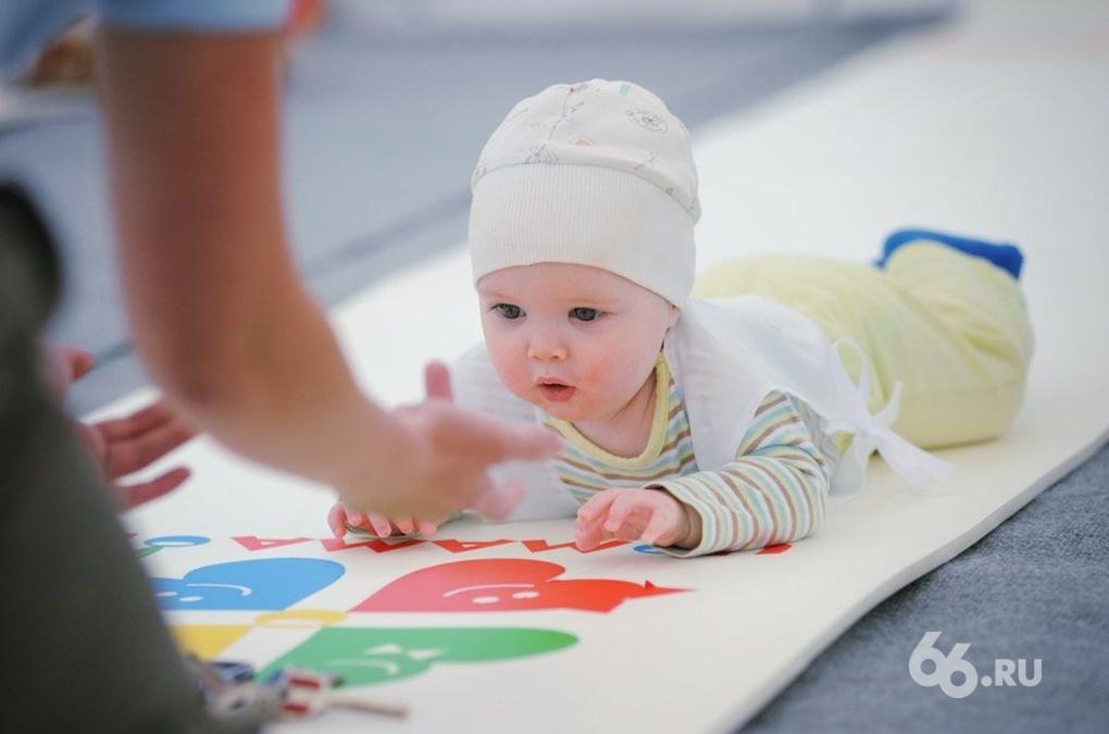 «Чемпионат ползунков» собрал около сотни малышей