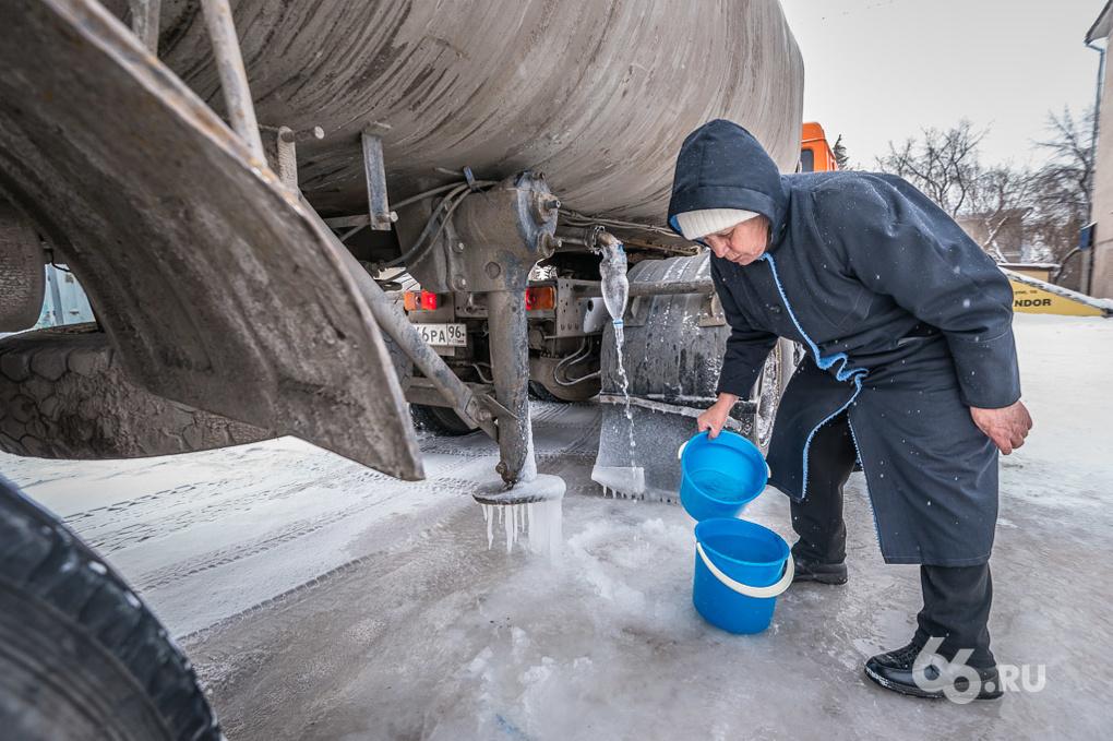 В Алапаевске без холодной воды остались 12 тысяч жителей