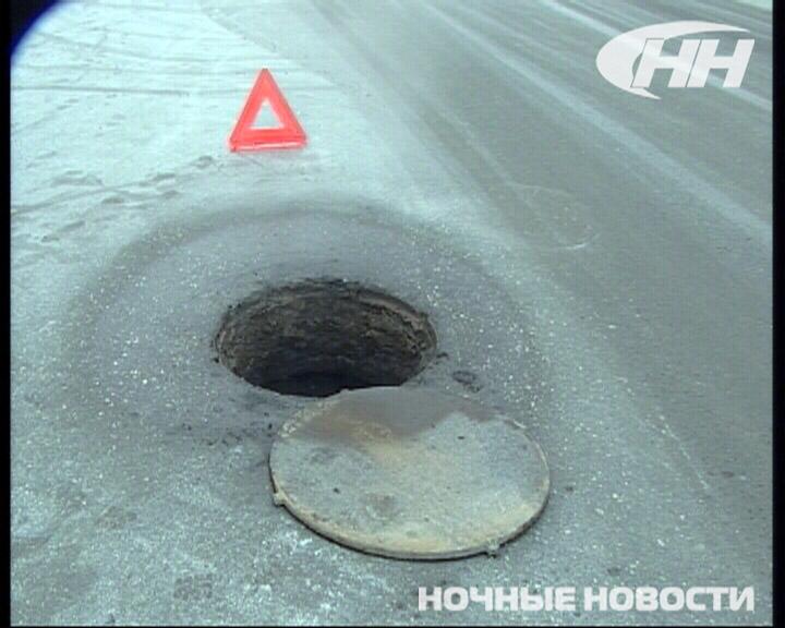 На Эльмаше из-за открытого люка Hyundai врезалась в автобус