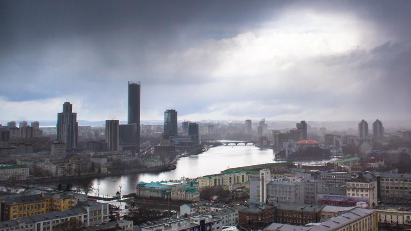 В выходные в Екатеринбурге будет снежно и дождливо