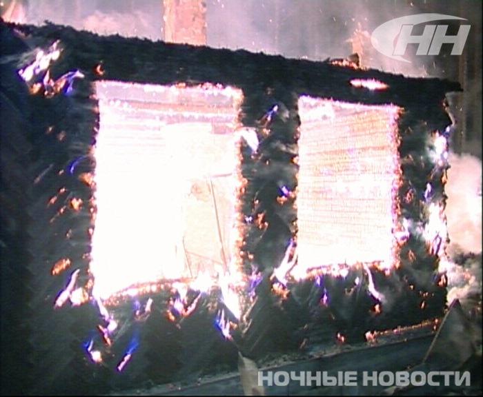 Хозяин садового домика на Чусовском тракте чудом спасся из пожара