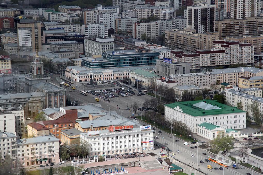 Площадь 1905 года в пятницу перекроют на весь день