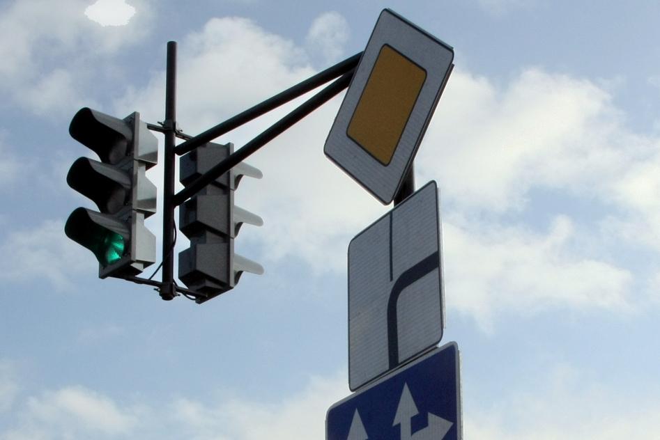 На кольце Серафимы Дерябиной — Объездная появились светофоры
