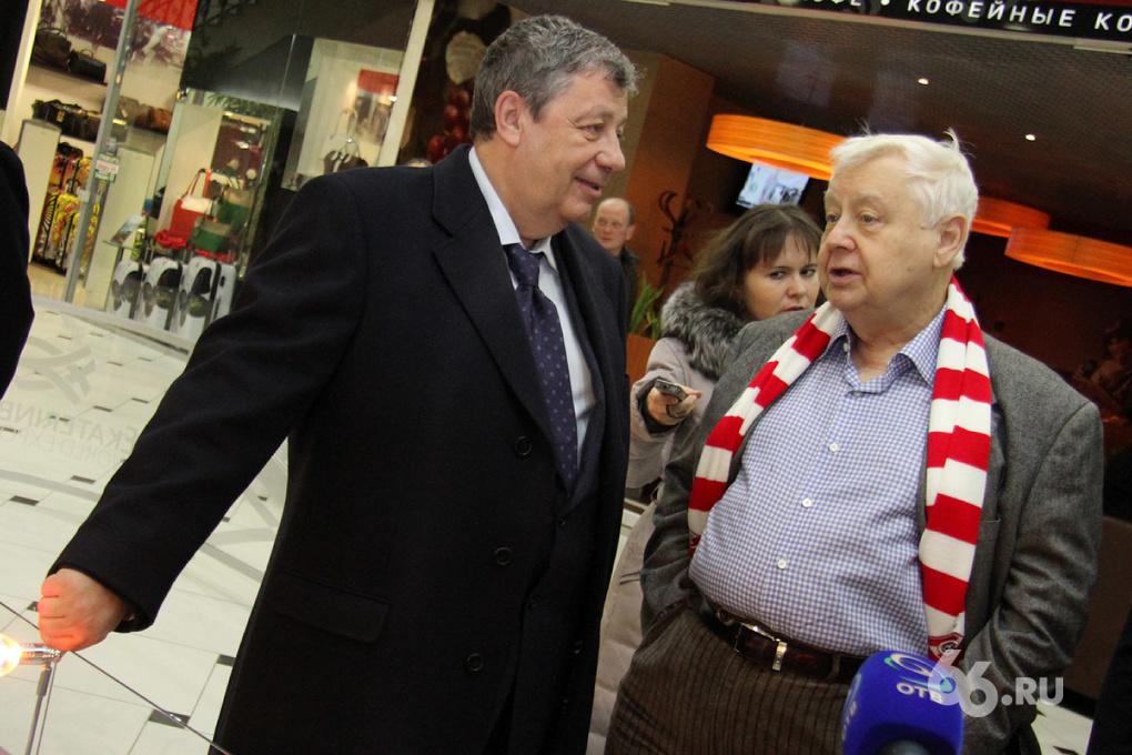 Табаков и Чернецкий съели штрудель в честь «ЭКСПО-2020»