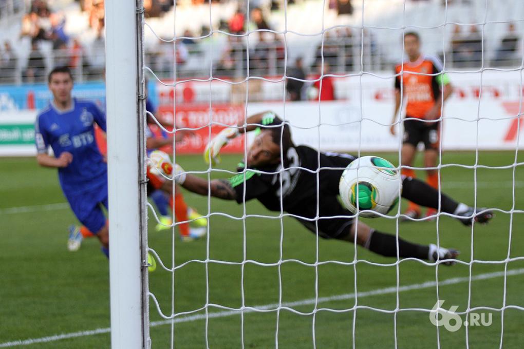 В матче против «Динамо» «Уралу» не хватило желания и воли