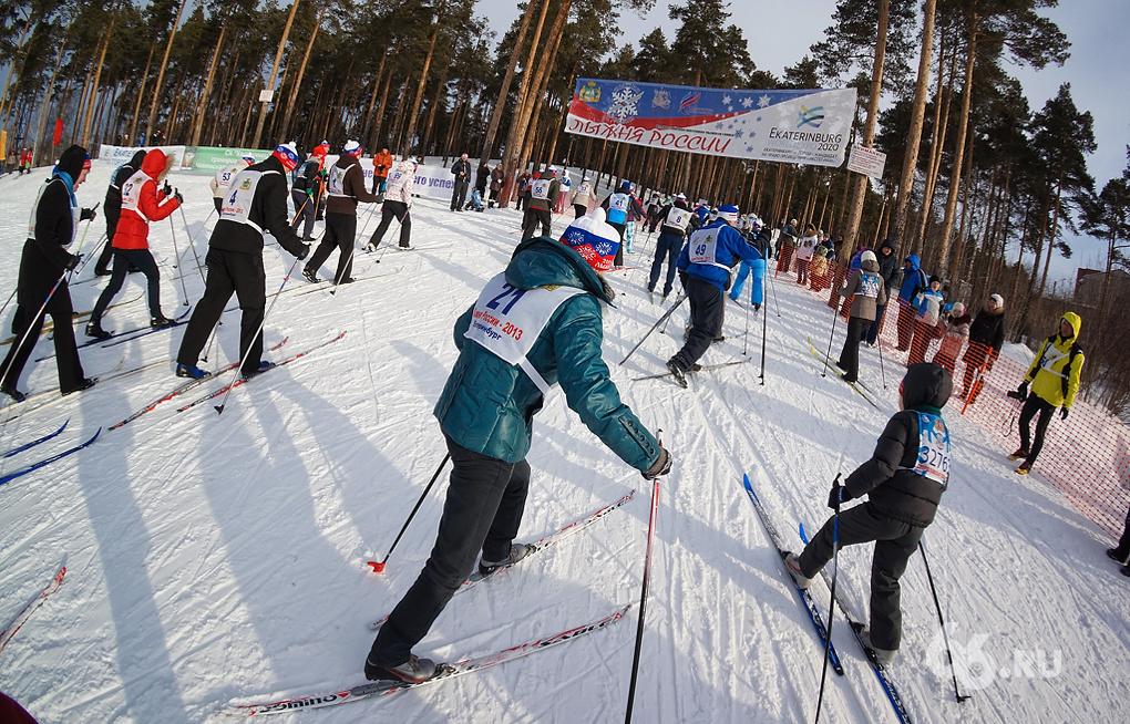 Городские чиновники дали старт «Лыжне России — 2013»