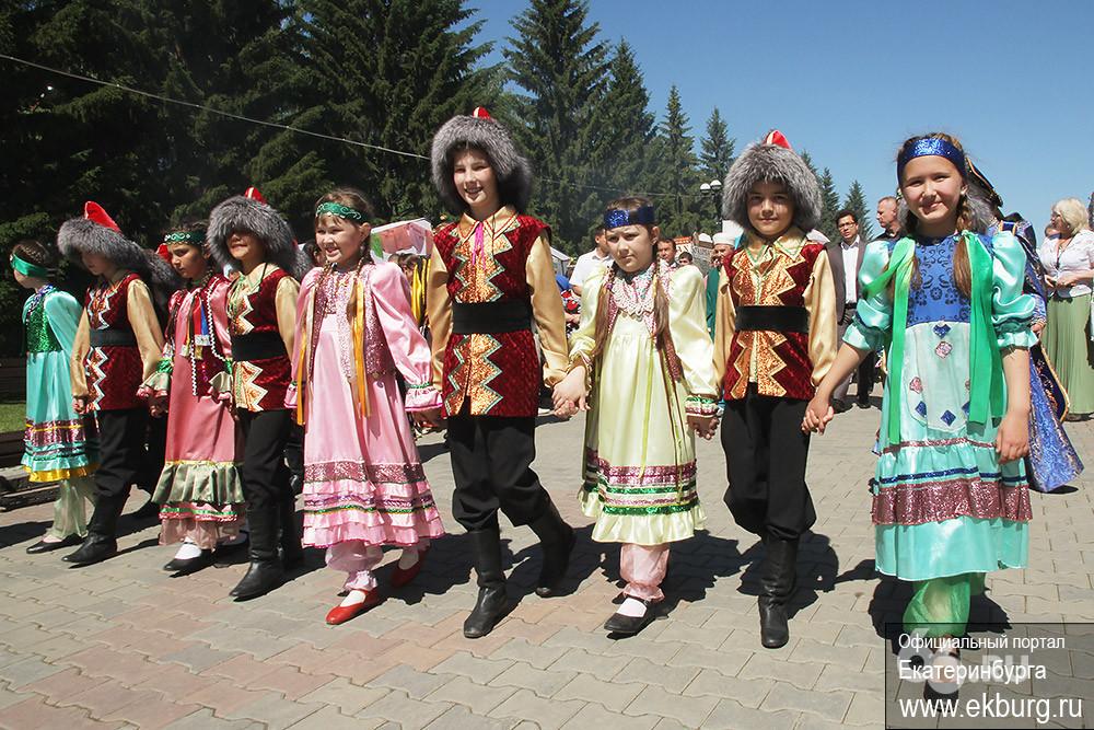 В Екатеринбурге отмечают Сабантуй