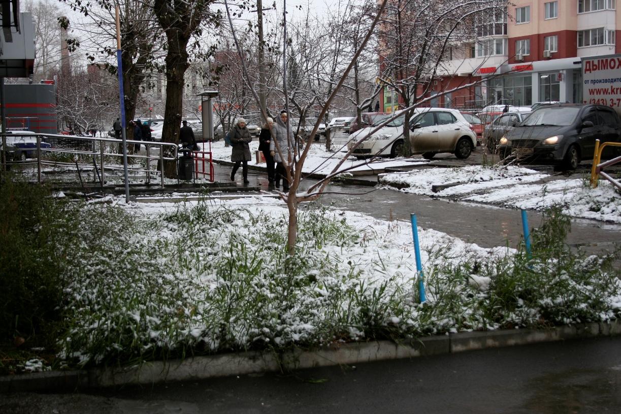 Пасмурно и немножко снежно: Екатеринбург ждут полузимние выходные