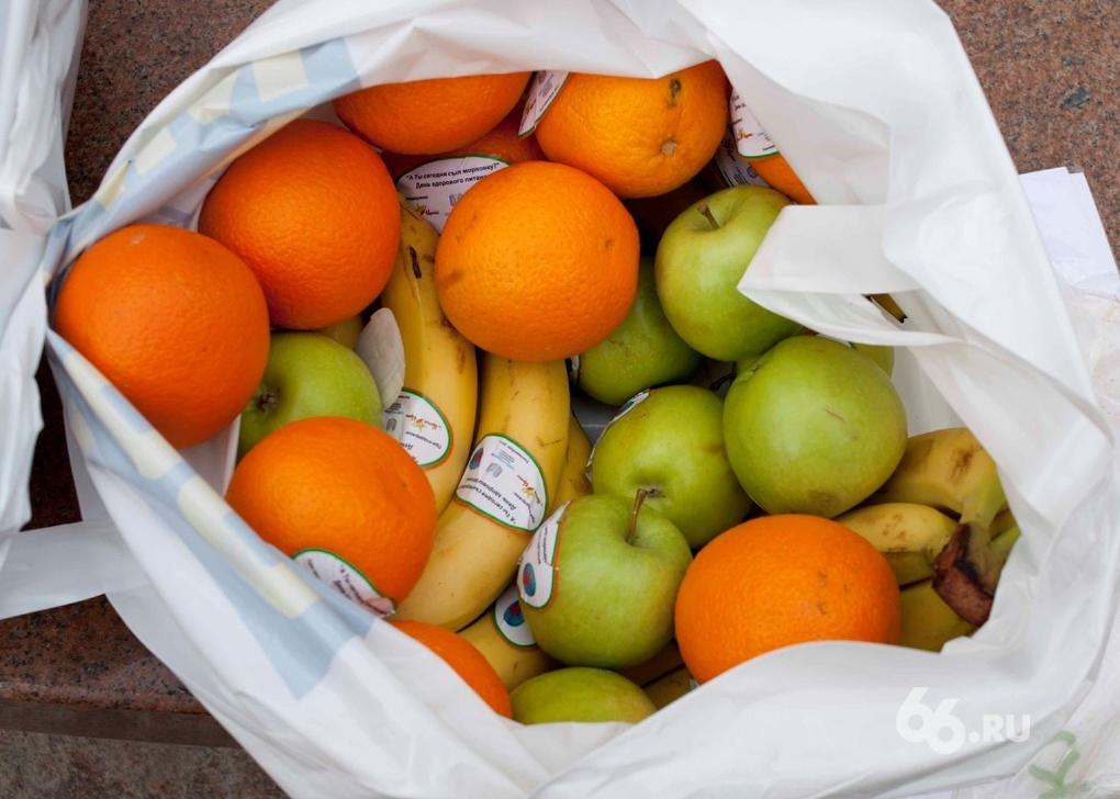 В область с нарушениями завезли почти 20 тонн фруктов и 24 тонны сливы