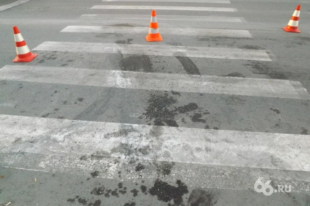 В центре Екатеринбурга водитель автобуса сбил пешехода