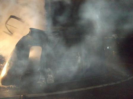 Два пенсионера сгорели в «Газели» на Серовском тракте