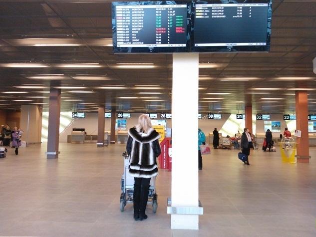 Самолет из Стамбула не может вылететь в Екатеринбург