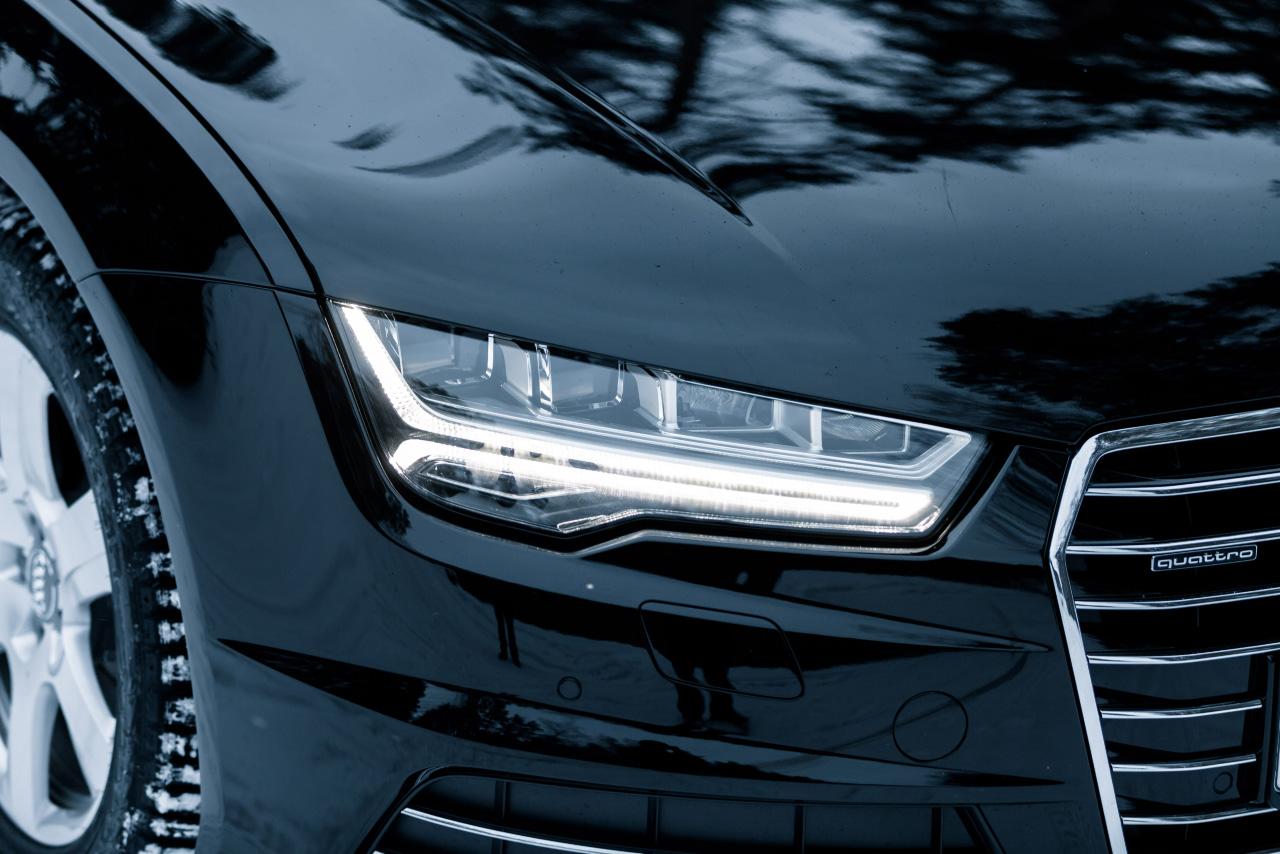 Идеальный шторм: пересиживаем непогодь в обновленном Audi A7