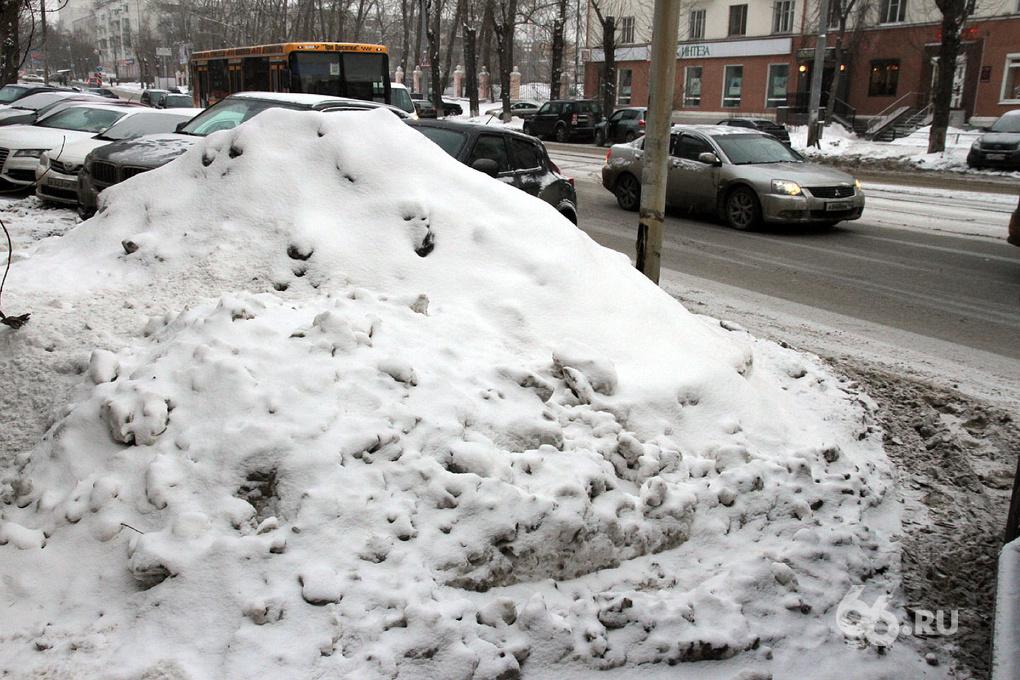 Мэрия против погоды: коммунальщики уберут снег из города, чтобы не затопило