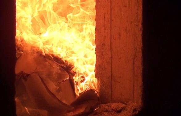 Екатеринбургские полицейские сожгли в печи почти 200 кг наркотиков