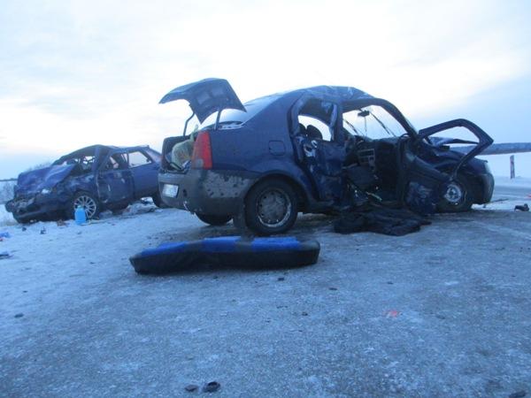 Жуть: регистратор заснял момент смертельного ДТП под Алапаевском