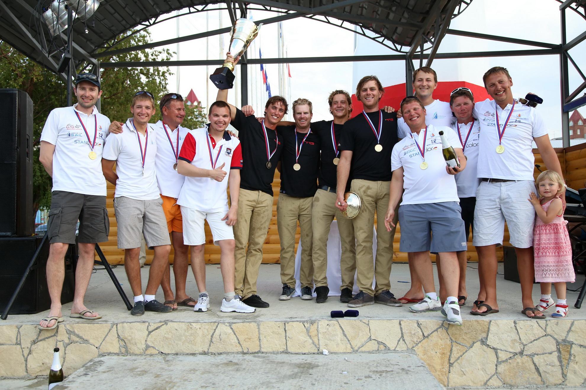 Екатеринбуржцы завоевали серебро и бронзу в XX парусной регате «ЯВА-Трофи»