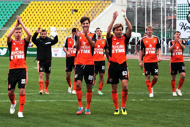 Футбольный «Урал» на выезде победил «Краснодар»