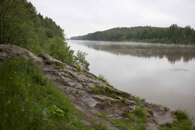 В реке Туре утонул рыбак