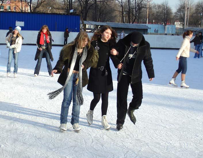 С декабря в Екатеринбурге будут работать 123 катка