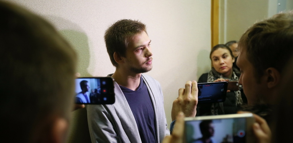 Руслан Соколовский: «Я не испытываю к верующим ненависти. Извините меня»