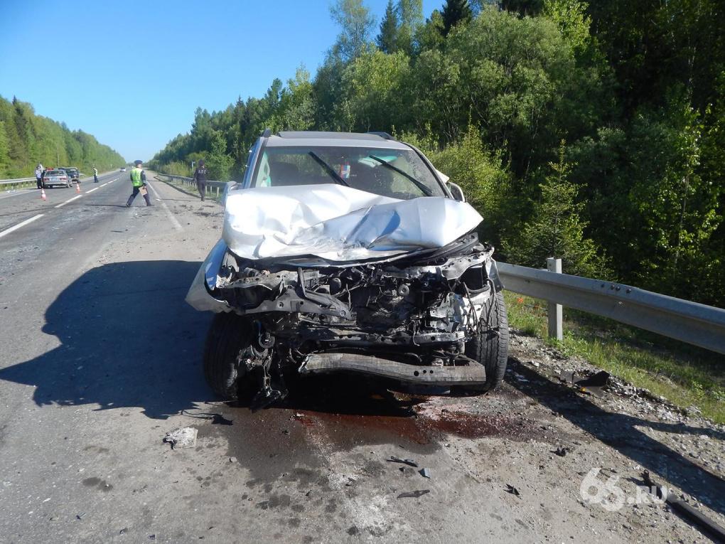 Две аварии на Серовском тракте унесли две человеческие жизни
