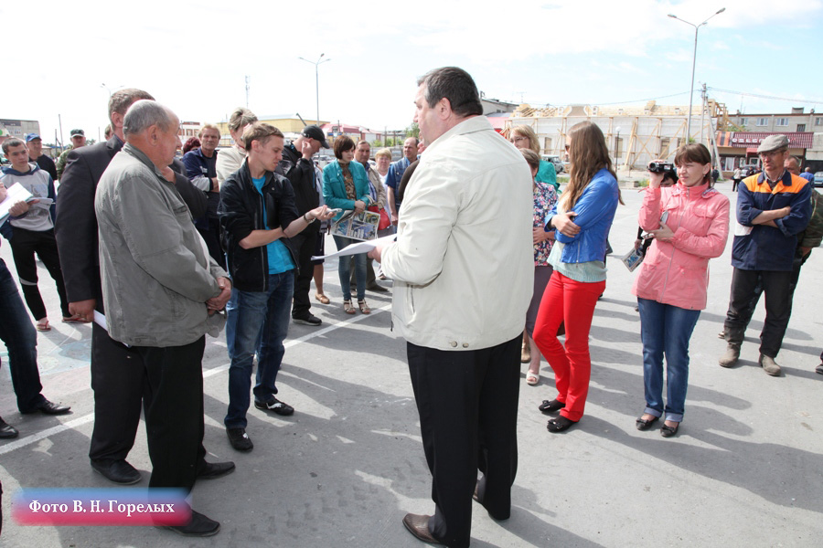 Жители Камышлова вышли на пикет против местной полиции