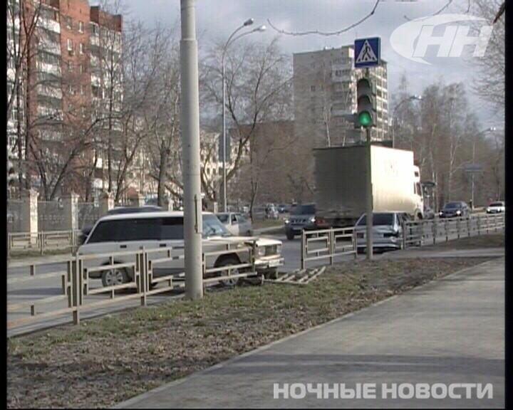 На Московской столкнулись «четверка» и «четырнадцатая»