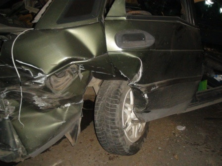 На Тюменском тракте столкнулись три машины