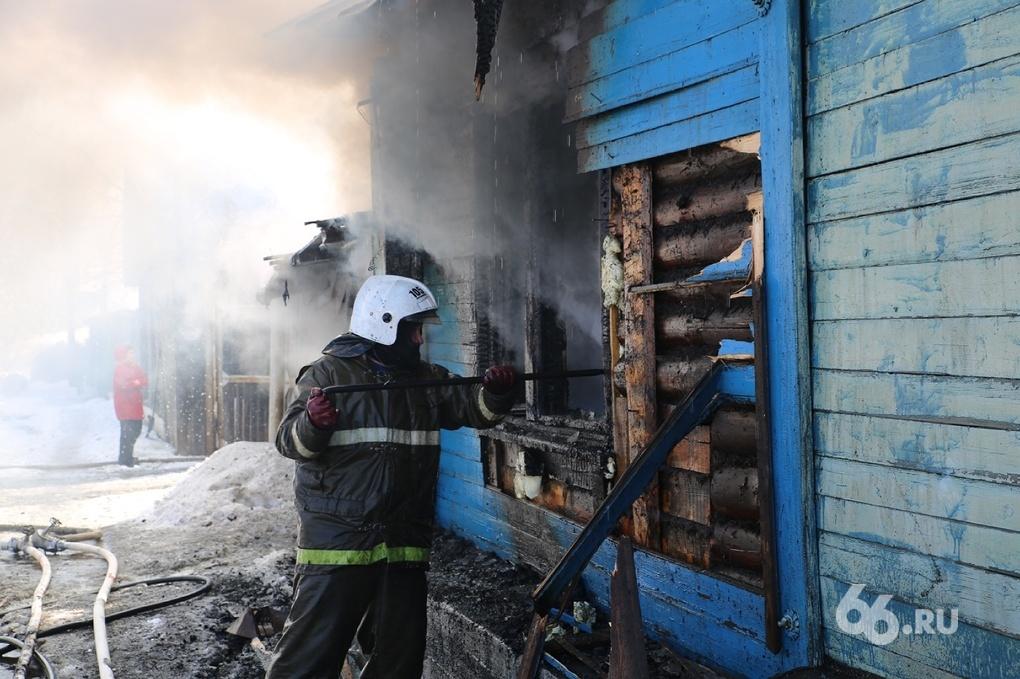 В Белоярском районе сгорел трехлетний ребенок
