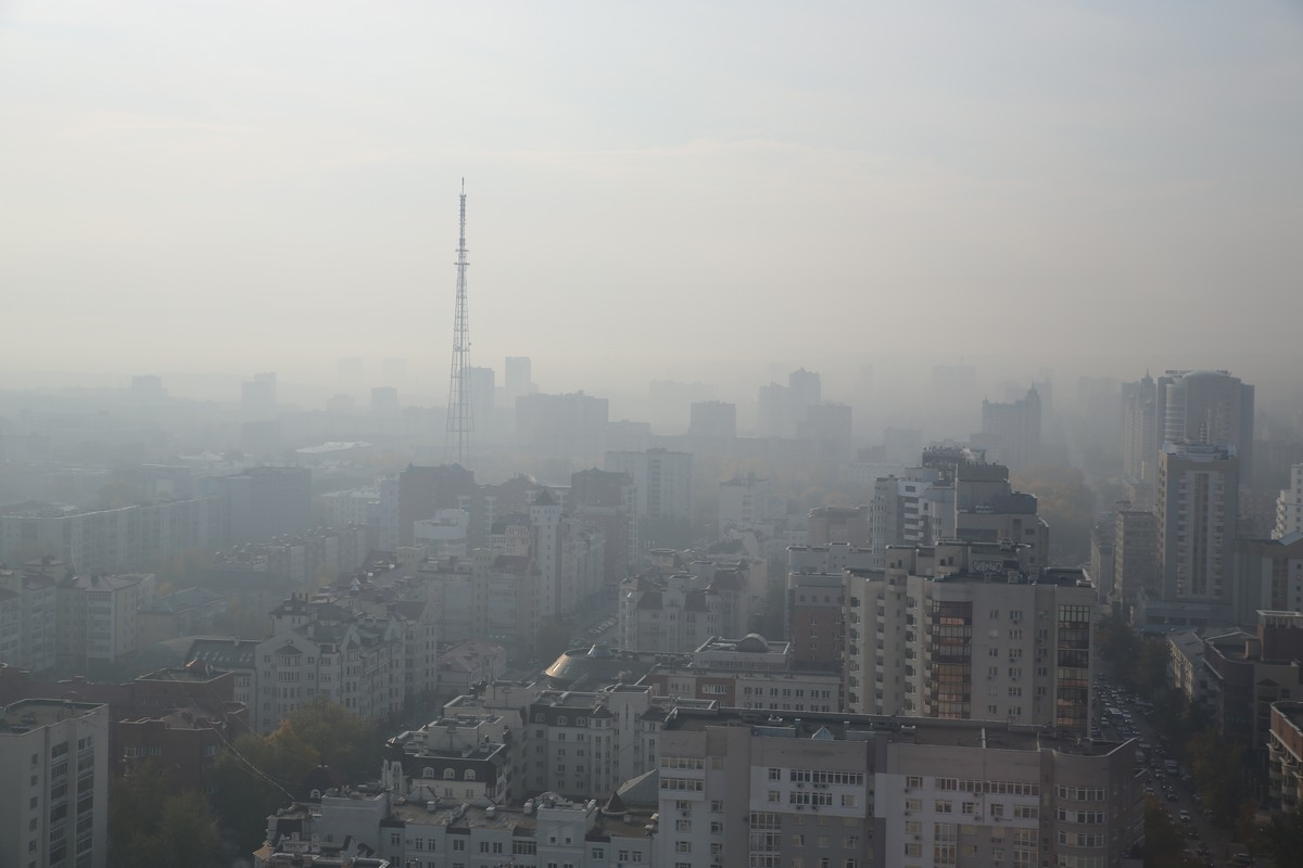 Дышать нечем: над Екатеринбургом на несколько дней повис смог