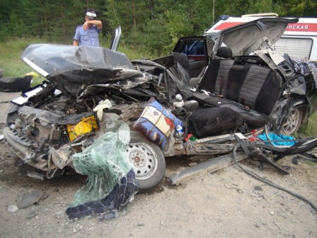 В ДТП на свердловских дорогах погибли два ребенка