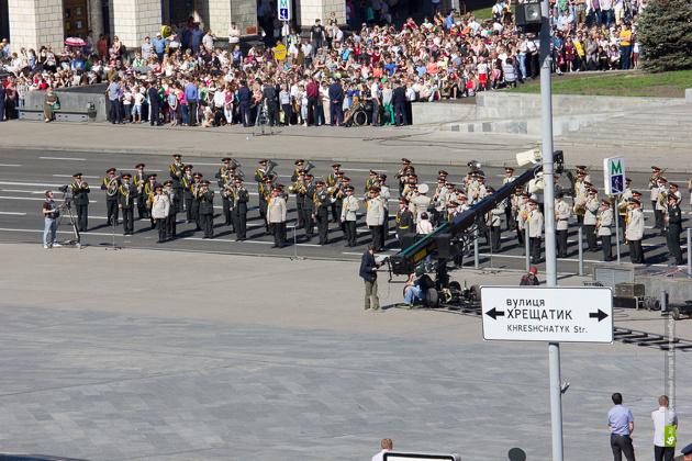 Власти Киева отменили военный парад в День Победы