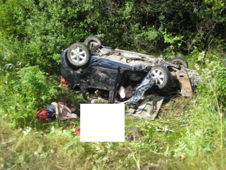 В ДТП на Серовском тракте погиб водитель и пострадали дети