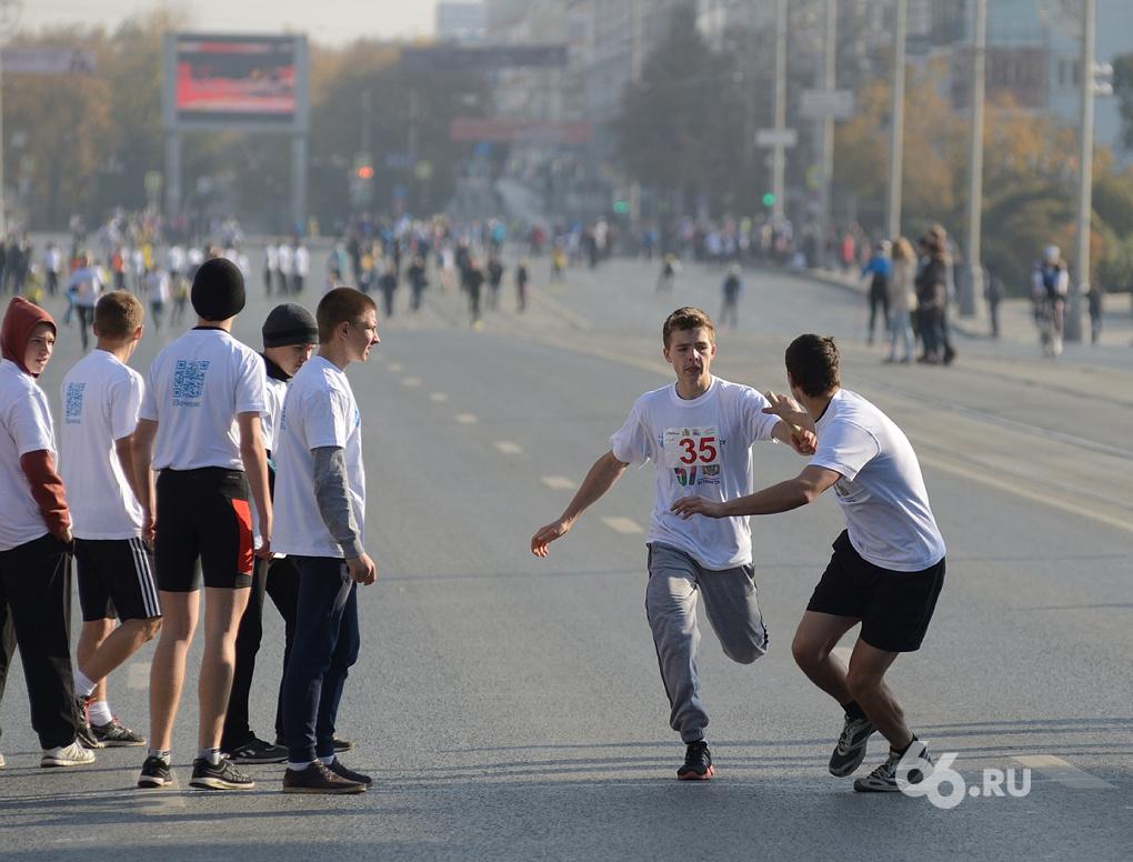 На роликах, байдарках и бегом: в Екатеринбурге прошла эстафета «Вечерки»