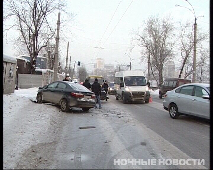 ДТП на Щербакова парализовало движение на Химмаш
