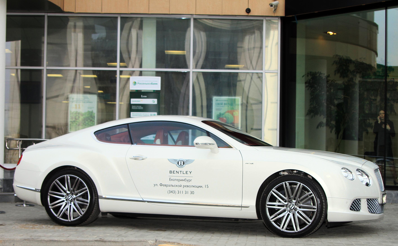 Доросли: в Екатеринбурге появился официальный дилер Bentley