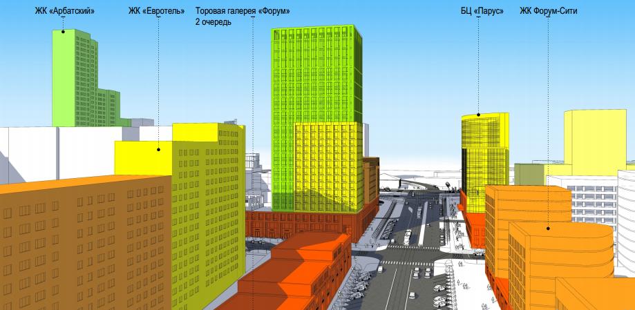 Градсовет поддержал концепцию стройки гостиничного комплекса на Радищева — Московской