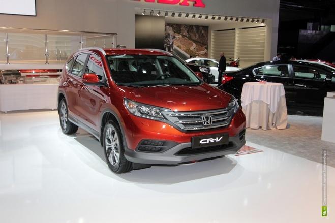 Honda объявила российские цены на новый CR-V