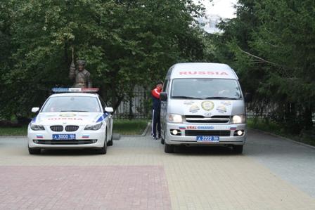 Свердловские инспекторы ГИБДД стали гонщиками-раллистами
