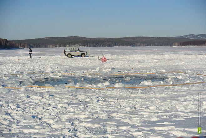 На дне озера Чебаркуль нашли воронки