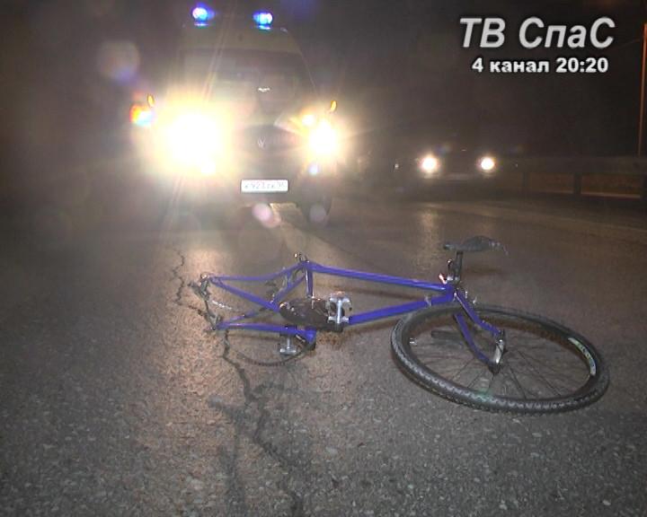 На Новомосковском тракте «двенадцатая» сбила велосипедистку