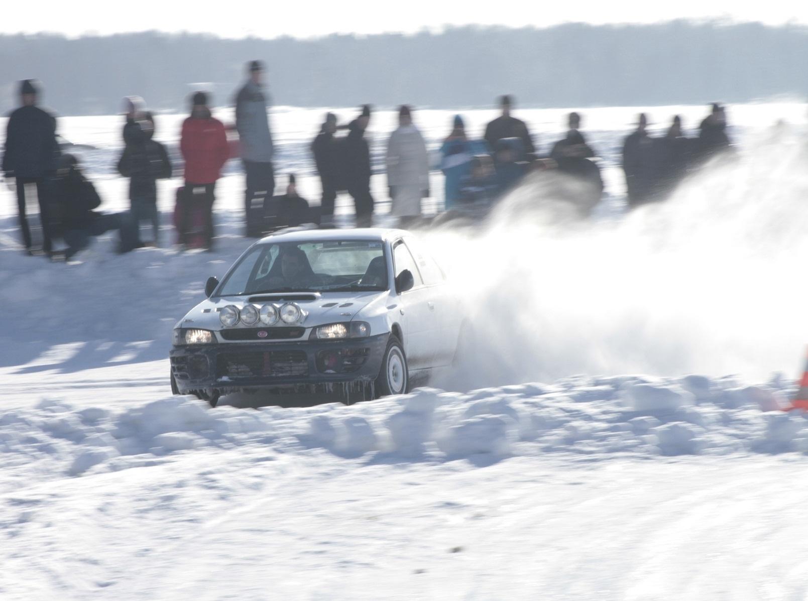 Выйдет боком: на Балтыме в субботу состоится ледовая гонка Ekabu