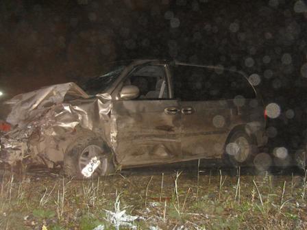 Под Алапаевском водитель Kia без прав устроил лобовую аварию