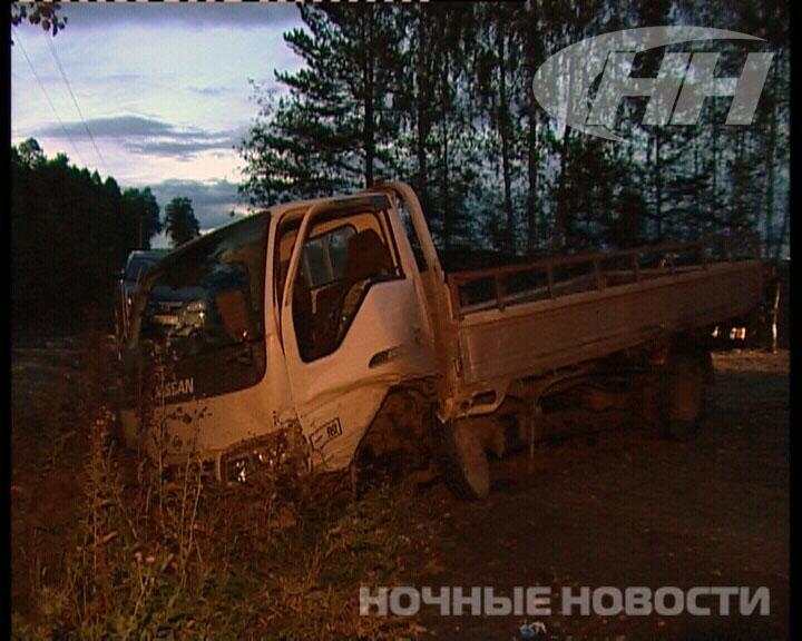 В Екатеринбурге Lifan Breez протаранил грузовик Nissan